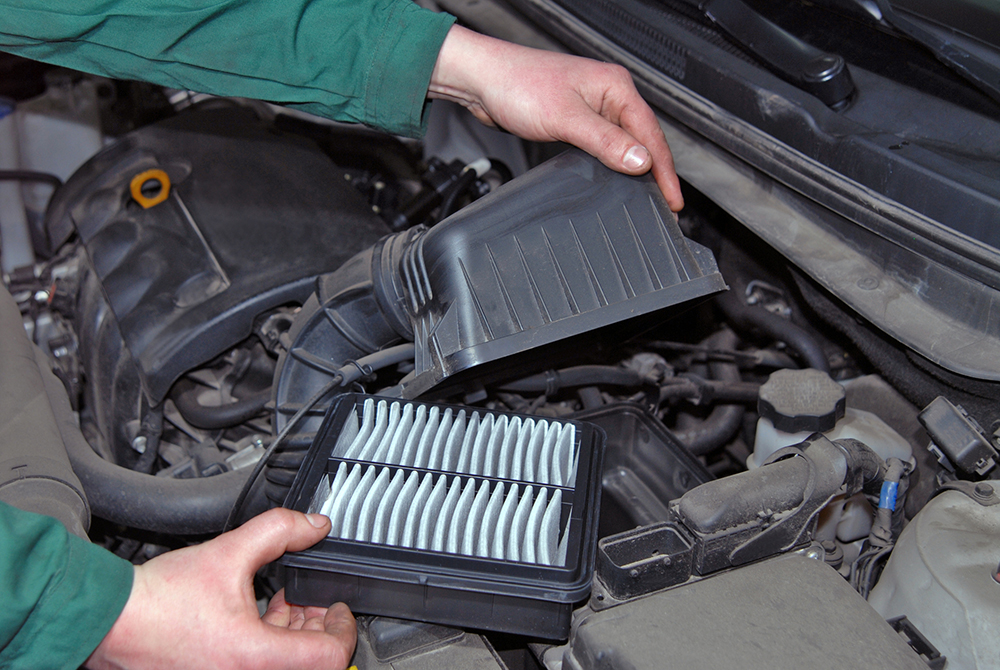 Does the Owner's Manual Cover How Often the Air Filter Should be Replaced?