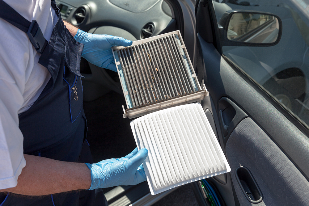 Cabin Air Filters on 2002 Honda Cr V Fuel Filter Location