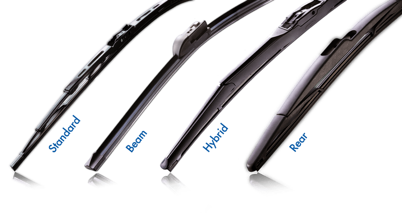 Image result for wiper blade types